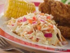 Southern Slaw - No one does coleslaw better than they do in the South! This fresh crispy recipe makes for a wonderful side dish with any main course.