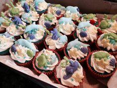 Under the sea theme cupcakes
