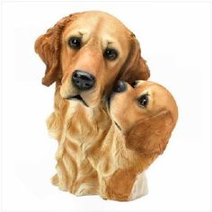 Golden Retriever - Mother and Pup
