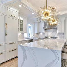 Raumgestaltung, Luxus Küche Design, Luxusküchen, Innenarchitektur Küche,  Küchendekoration, Haus
