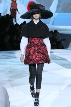 Marc Jacobs Fall 2012 Ready-to-Wear Fashion Show - Lindsey Wixson