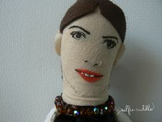 personalised handmade dolls, fabric dolls, portrait, selfie dolls, gift, face detail