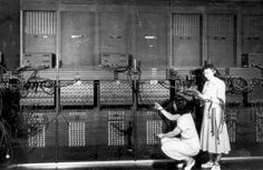 ENIAC のプログラム変更作業