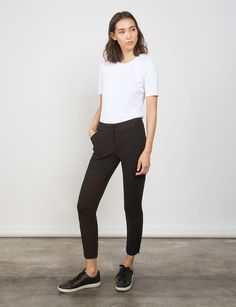 Shop AELLA Ankle Skinny, the most comfortable and slimming black ankle pants. $198. Free and easy returns and no fuss try-on service. Machine washable staples for every day.