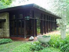 Lovness Studio House. 1955. Stillwater, Minnesota. Usonian Style. Frank Lloyd Wright Home