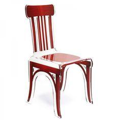 Découvrez cette chaise de bistrot idéale pour un intérieur esprit loft ou de caractère ! Une fabrication française et artisanale.
