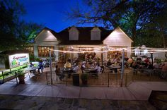 Esparza's Restaurante Mexicano - One of the best patios in Grapevine, Texas!