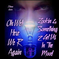 """Blue Light"" c/o Estevan Garza 2 Princes, Prince Tattoos, Roger Nelson, Prince Rogers Nelson, Beautiful One, Handwriting, Purple, Blue, Lyrics"