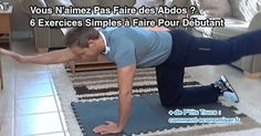 6 exercices d'abdos facile à faire