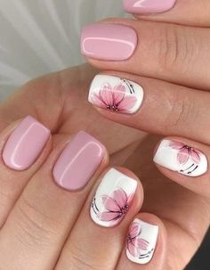 (Notitle) (notitle) Nail arts Related posts: 20 Popular Spring Nail Art Design Ideas 2020 Trend Kids educationTop Simple nail designs for short nails - short purple acrylic square . Kids nail designs and ideas for Coffin Acrylic Nails Kids . Square Nail Designs, Flower Nail Designs, Flower Nail Art, Nail Designs Spring, Acrylic Nail Designs, Best Nail Art Designs, Nails With Flower Design, Nail Flowers, Pink Nail Designs