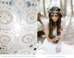 eclectic boho wedding the pretty blog 0101 The Enchanted Forest {Wedding Inspiration}