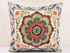Another stunning Suzani - suzani pillow cases hand embroidered   Uzbek-Craft.Com