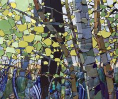 Rd 6N From the Woods in Spring (close up section 2) - Sharon Loeppky