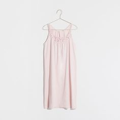 PINK LACE TRIM NIGHTGOWN - Clothing - Woman - Loungewear & shoes - Home Collection - SALE | Zara Home United States