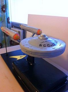USS Enterprise Cake