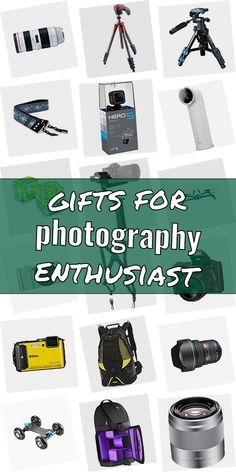Are you searching for a gift for a photographer? Then you are right Checkout our ulimative collection of presents for photograpy lovers. We have great gift ideas for photographers which are going to make them happy. Buying gifts for photographers does not need to be difficult. And do not have to be expensive. #giftsforphotographyenthusiast