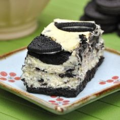 #Oreo #cheesecake