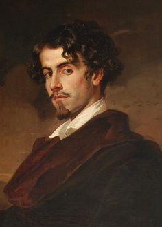 Valeriano Bécquer. Retrato de Gustavo Adolfo Bécquer. 1862 Fotografía realizada por Pepe Morón