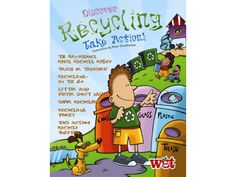 On Earth Day, help kids discover the importance of recycling and how it can benefit water! $1.24