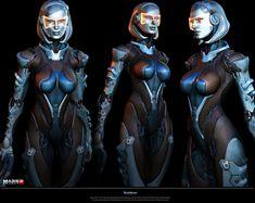 Edi Alternate Armor – Mass Effect 3