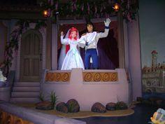 Ariel's Undersea Journey of the Little Mermaid Attraction, New Fantasyland, Magic Kingdom, Walt Disney World, Orlando, FL.