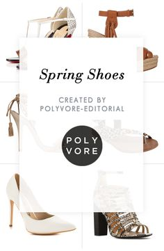 """""""Spring Shoes"""" by polyvore-editorial on Polyvore"""