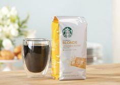 Starbucks Blonde Roast Coffee Veranda Blend Coffee Love, Hot Coffee, Coffee Coupons, Coffee Shop Design, Dark Roast, Group Meals, Coffee Roasting, Starbucks Coffee, Coffee Recipes