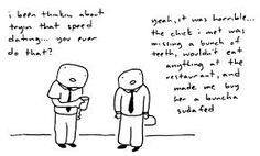 Comic by Toothpaste For Dinner: speed dating Speed Dating, Math, Math Resources, Early Math, Mathematics
