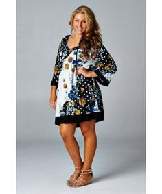 Dear John Tunic/Dress - MMB Famous Tunics - Plus Size - Marlie Madison