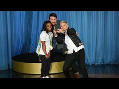 Move over, Zac Efron! Channing is also a huge fan of the Olympic champion, and…