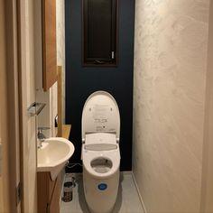バス/トイレ/和モダン/和風/アクセントクロス/砂紋なようなクロス/新築のインテリア実例 - 2017-11-30 00:01:00 | RoomClip (ルームクリップ) Toilet, Bathroom, Washroom, Flush Toilet, Full Bath, Toilets, Bath, Bathrooms, Toilet Room