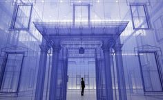 Artist Do-Ho Suh's ghostly fabric sculptures explore the meaning of home
