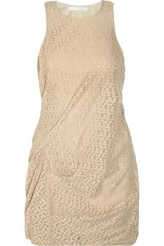 Kain Edie gathered lace dress $90