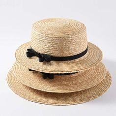 f76ccca3 10.25  Aliexpress.com: Comprar Al por mayor de calidad superior clásica  verano playa sombrero de ala ancha de paja navegante Canotier sombreros de  Sol para ...