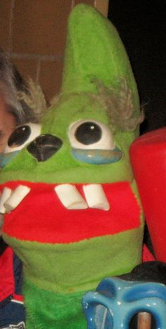 """WXIX TV 19 LARRY SMITH'S """"Nasty Old Thing"""" puppet   by CINCINNATI TV & RADIO HISTORY"""