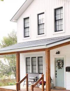 Nice Top 25 Farmhouse Porch Design Ideas https://roomadness.com/2018/03/15/top-25-farmhouse-porch-design-ideas/