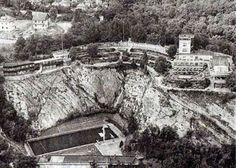 Výsledek obrázku pro starý barrandov Czech Republic, Vintage Images, Old Photos, Mount Rushmore, Earth, Album, Mountains, Black And White, Travel