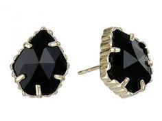 Kendra Scott Tessa Earring (Gold/Black) Earring