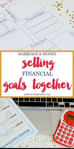 Marriage & Money: Setting goals, especially financial goals, is very important as you work towards gaining financial peace and achieving financial freedom. Click... #finance #goals #marriage #goalsetting