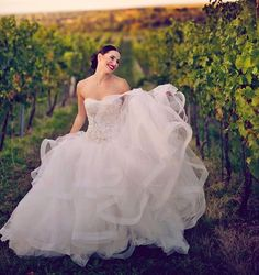 Vineyard 🍇 wedding season is here. We are so excited 😍 .  Je tu sezóna svateb💏 na vinicích🍷💍👌 * * * #wedding #elegant #weddingplanner #vineyard #vinery #intimate #elopement #vine #grapes #moravia #fall #harvest #weddingdress #dress #gown #bride #running #redlips  #czech #czechgirl #weddinginspo #photooftheday #organizacesvatby #koordicesvatby #svatbanaklic #svatebnikoordinatorka #svatbapohádky #svatba #nevesta Vineyard Wedding, Fall Harvest, Formal Dresses, Wedding Dresses, Wedding Season, Vines, Wedding Planner, Ball Gowns, Seasons