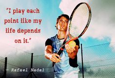 Life is like a game of tennis; you have to fight hard to earn every point, somet… Tennis Funny, Tennis Tips, Golf Tips, Tennis Workout, Tennis Quotes, Tennis Elbow, Senior Home Care, Kids Diet, Sport Quotes