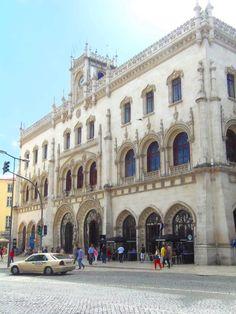La gare du Rossio. http://wp.me/p3Y6sE-kE