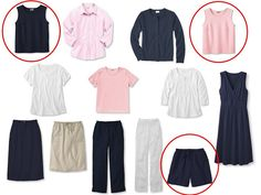The Vivienne Files: Transition: Whatever's Clean in Navy and Pink