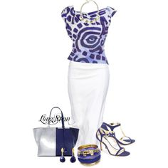 A fashion look from April 2014 featuring Vivienne Westwood Anglomania blouses, AERIN sandals y Monsoon bracelets. Browse and shop related looks.