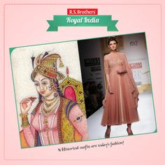 History of #Anarkali dress :) The 16th century Mughal empress, the wife of Emperor Jahangir, who is also believed to be the same Anarkali, with whom Salim aka Jahangir was madly in love, is the inspiration behind this apparel. History reveals how the empress had preferred simple and modest garments and how her garment has become immortal in the history of Indian fashion.   (Image copyrights belong to their respective owners)