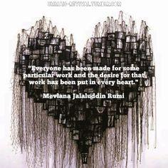 Rumi. Find Christ. Find the work. Find yourself.