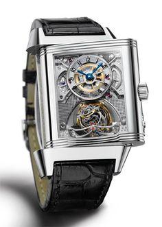 Reverso Gyrotourbillon, #Jaeger LeCoultre #watch