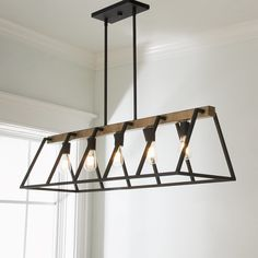 Open Frame Island Chandelier - Shades of Light