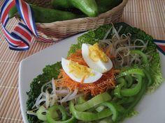 Cocina Costarricense: caiguas ensalada