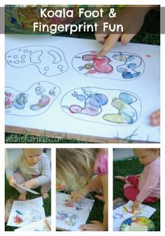 lots of koala activities, including free printables